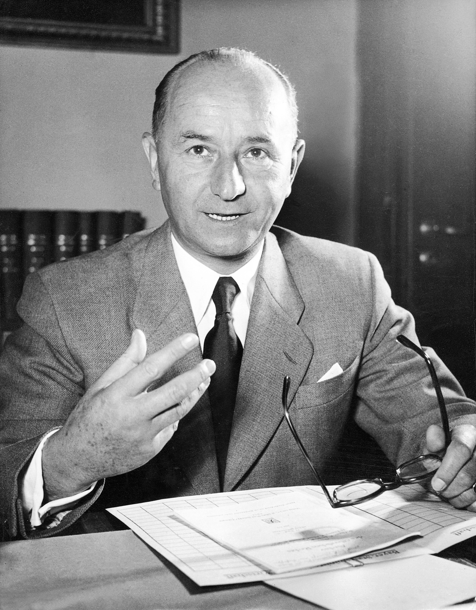 Hanns Seidel began a fundamental modernisation of the CSU